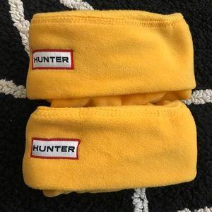 HUNTER 🔵 Kids Hunter boots socks in yellow